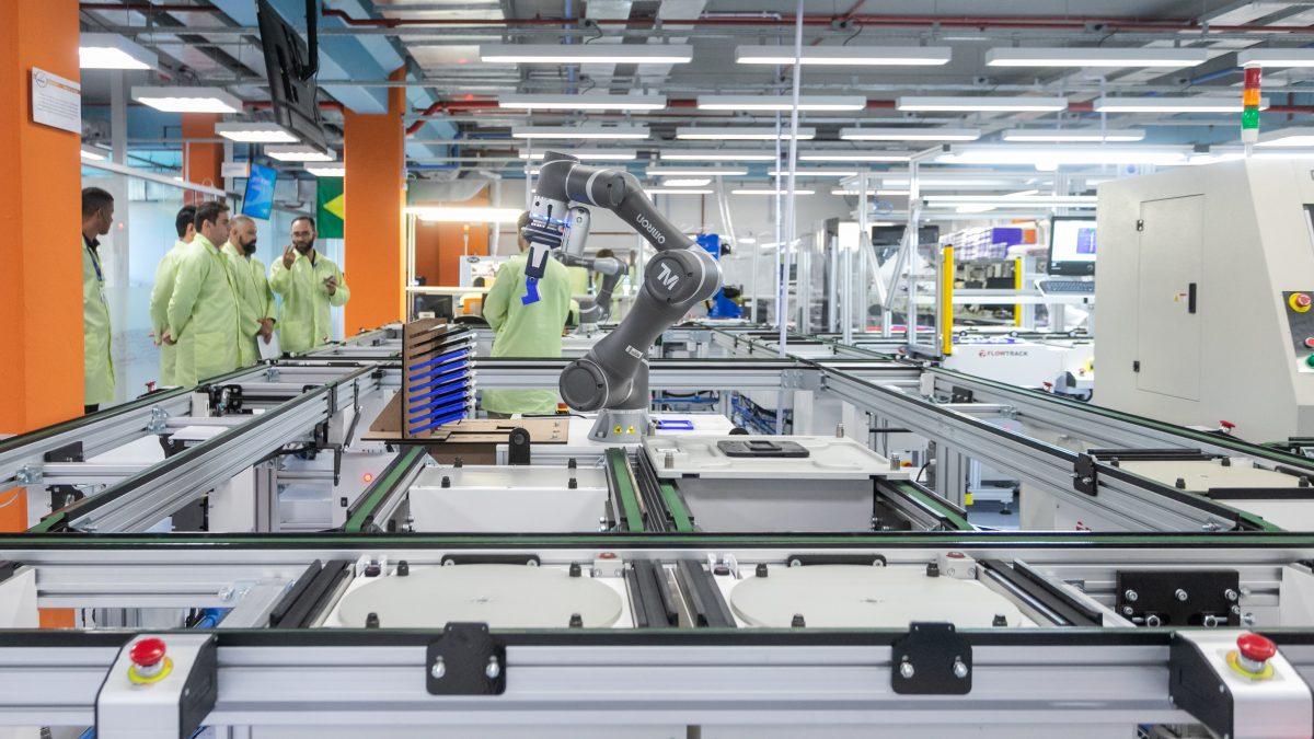modernização industrial